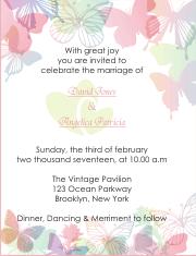 15 Contoh Wedding Invitation Undangan Pernikahan Dalam