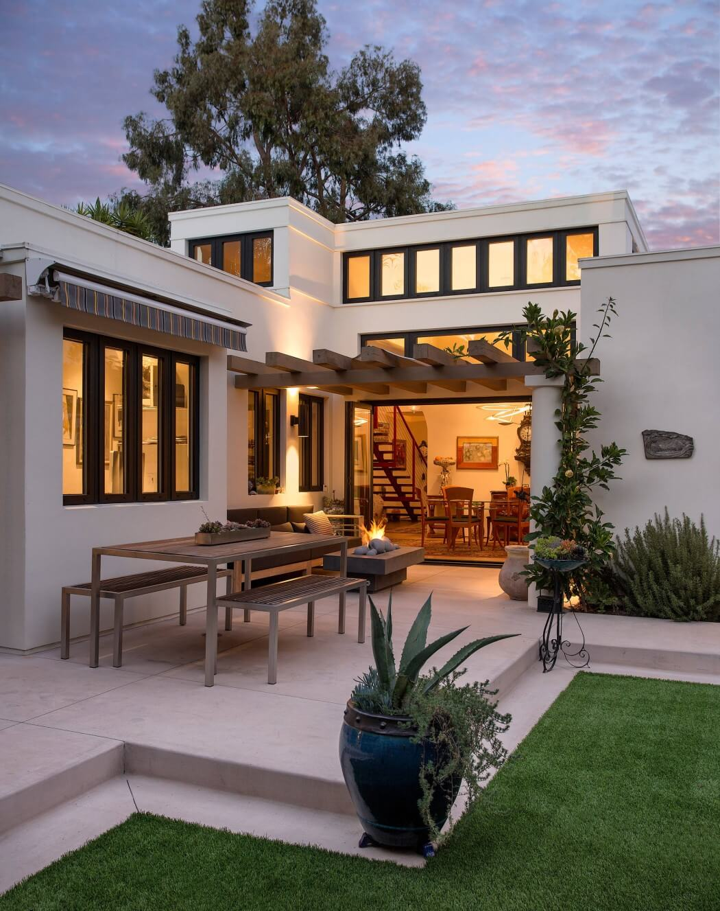 Una Casa De Estilo Espa 241 Ol En California Allen Construction