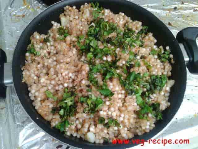 Sabudana khichdi Recipe | Tapioca Pearls Pilaf Recipe