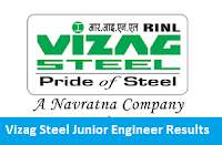 Vizag Steel Junior Engineer Results