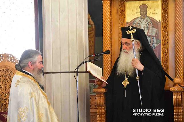 Πρώτη παράκληση στην Παναγία στον Ιερό Ναό Ευαγγελίστριας στο Ναύπλιο