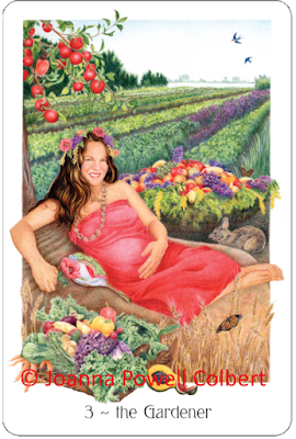 Gaian Tarot The Gardener Joanna Powell Colbert blog blogger