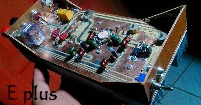 Elektronik Plus Dijual Murah Boster Ht Vhf Daya 50 Watt