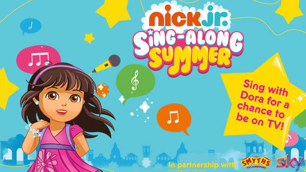 #DoraSingAlong Summer Tour with Smyths and Nick Jr