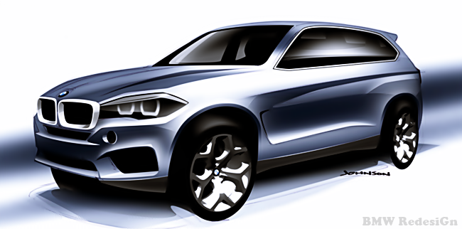 2018 BMW X7 Redesign
