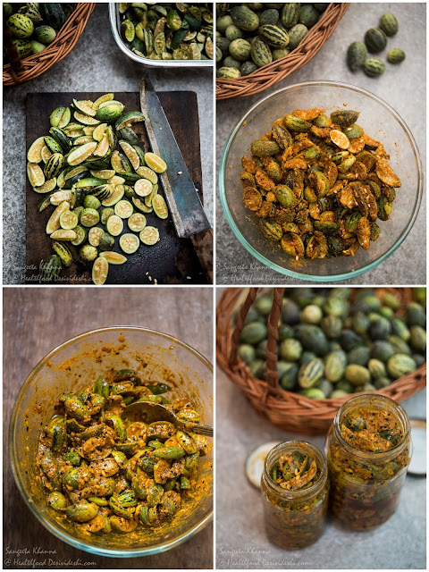 recipe of kachri ka achar