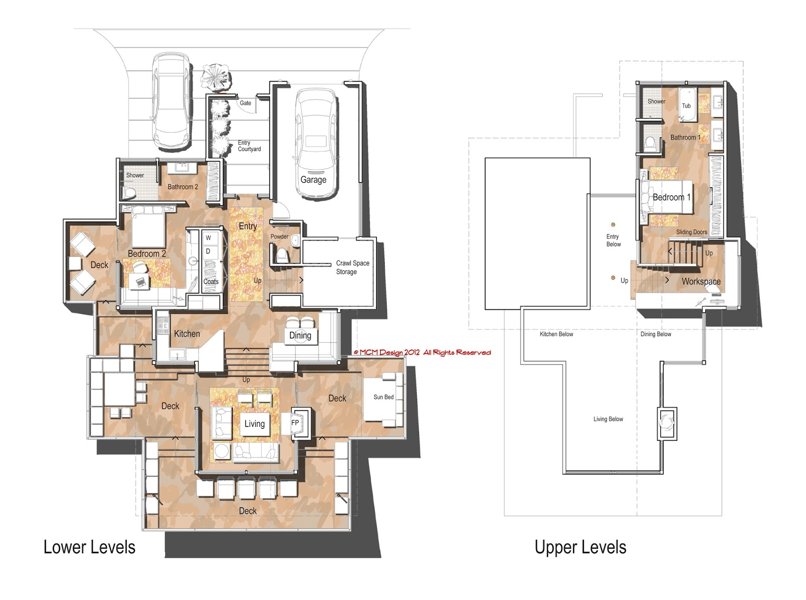 Modern Homes Floorplans Mcm Design November 2012