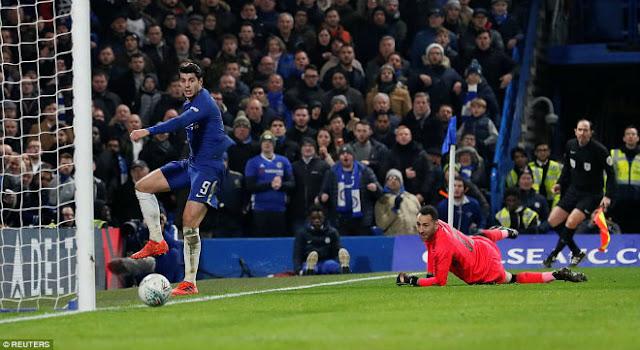 Chelsea hòa Arsenal: Conte chê Morata, giãy nảy đòi bù giờ 10 phút 2
