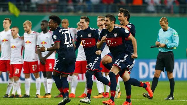 DFB Pokal: Bayern Lolos Usai Atasi Leipzig Lewat Adu Penalti