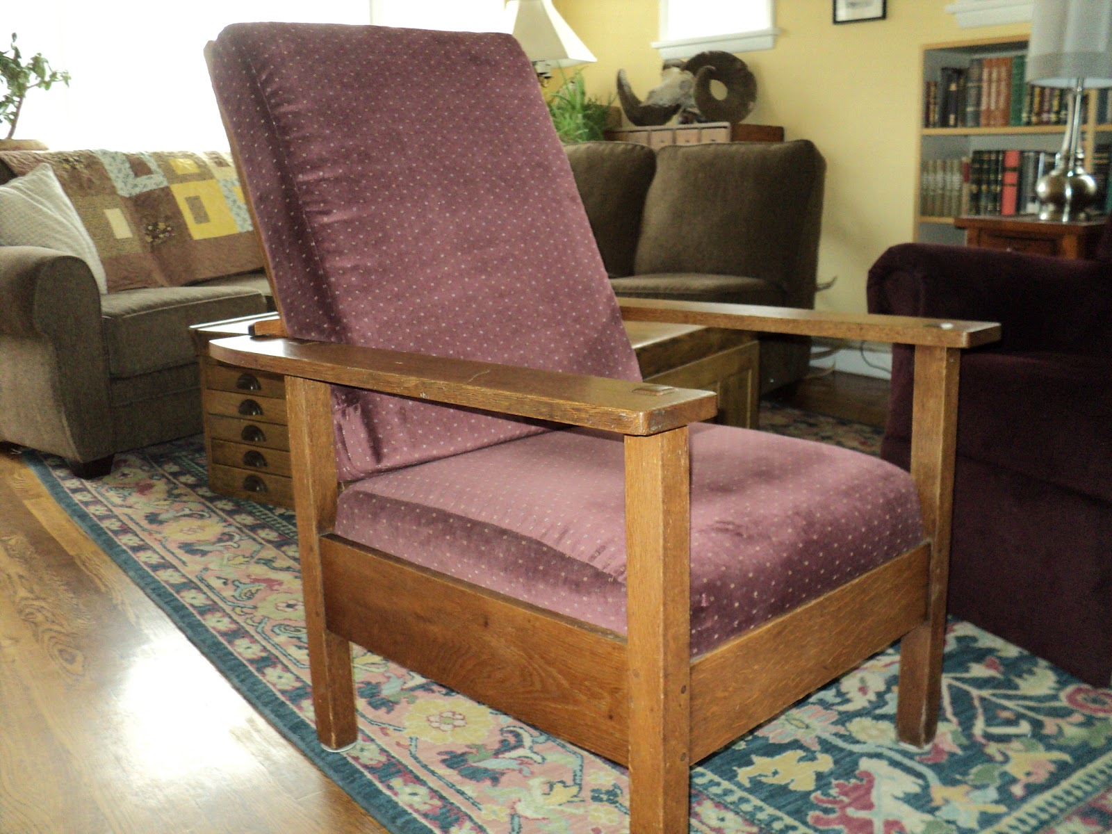 morris chairs for sale dinette sets with caster nice today chair marked 830 original finish