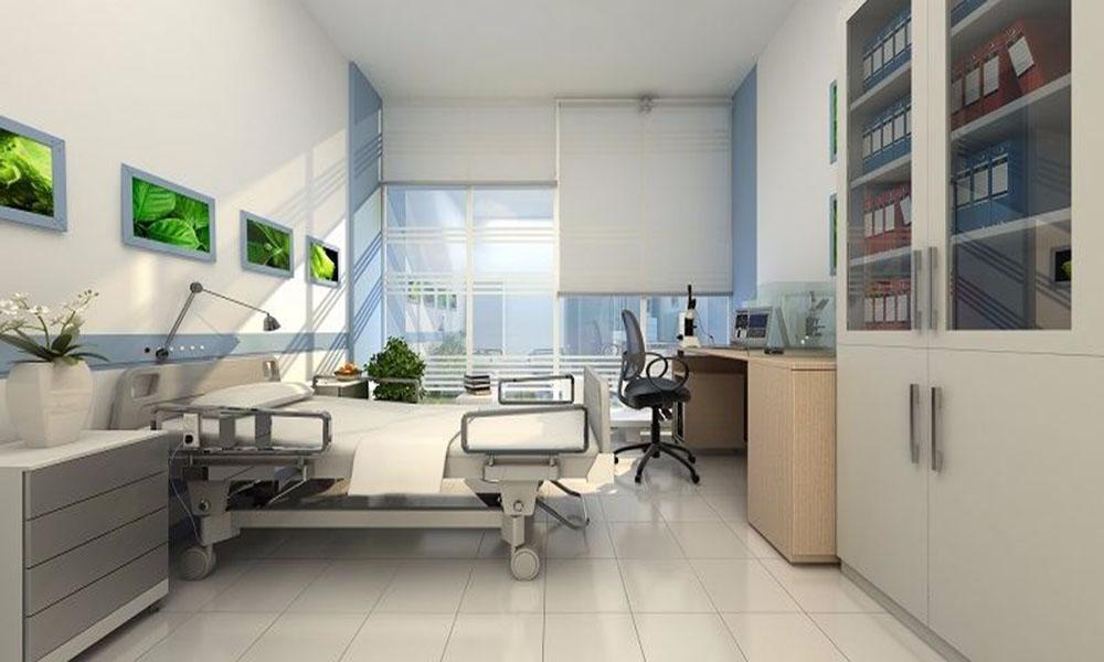 Phòng khám và bệnh viện hiện đại tại Goldmark City