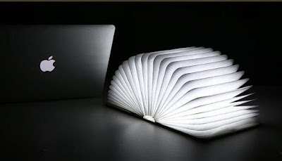 Folding Book Night Light