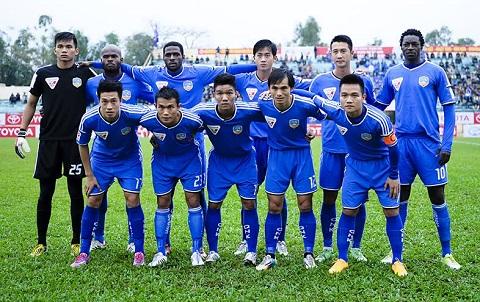 Quảng Nam chính thức trở thành tân vương của giải V-League 2017