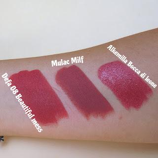 verdebio Defa Cosmetics Velvet Matt Lipstick Mulac Milf