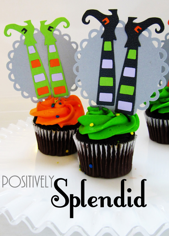 Candy-Filled Pumpkin Treats and Bewitching Cupcake Toppers ...