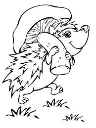 Adorable Baby Hedgehog Printable Free Download