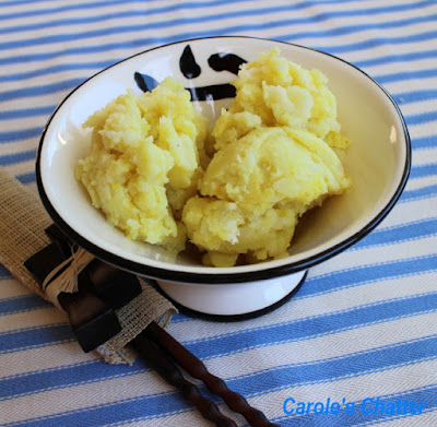 Carole's Chatter: Olive Oil Mustard Mash - rehashed