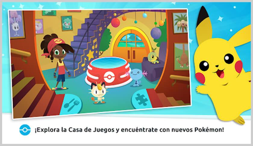 screenshot casa de juegos pokémon