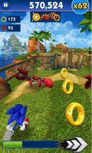 Download Sonic Dash MOD APK Terbaru v3.2.2 Unlimited Star
