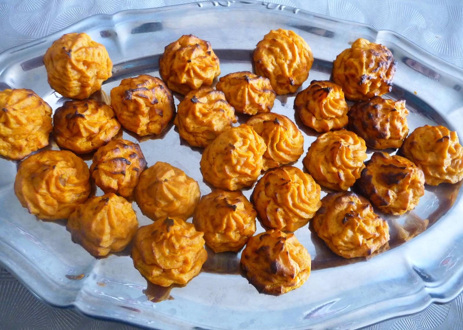 Cuill re aiguille et scie sauteuse duchesses de patate - Idee recette patate douce ...
