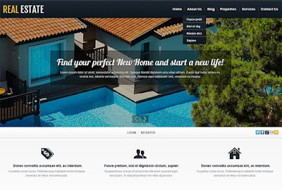 Real Estate Firm WordPress Theme