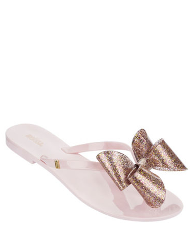 Melissa Harmonic Bow Jelly Sandals