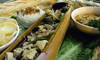 Sayur Ikan Pansuh Dalam Bambu Khas Kalimantan Barat