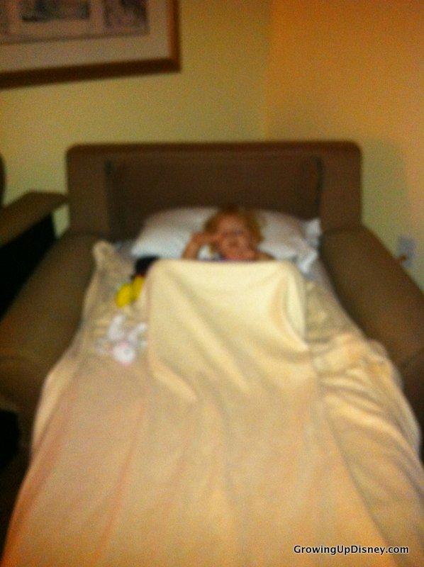 Sleeper Chair Twin Swings Bedroom Growing Up Disney: Minnie Moms: Sleeping Away From Home