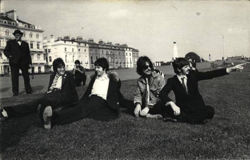 beatles on the hoe