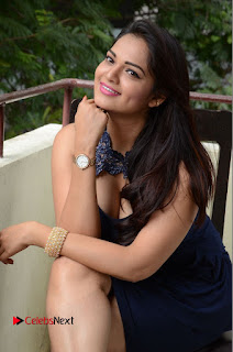 Actress Ashwini Pictures in Short Dress at Vinodam 100 Percent Press Meet  0097.JPG