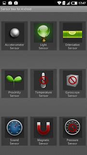 Sensor pada Infinix Hot 3