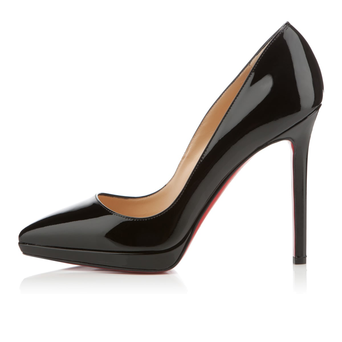 buy popular 38f61 5e756 CHRISTIAN LOUBOUTIN PIGALLE PLATO 120MM BLACK PATENT - Reed ...