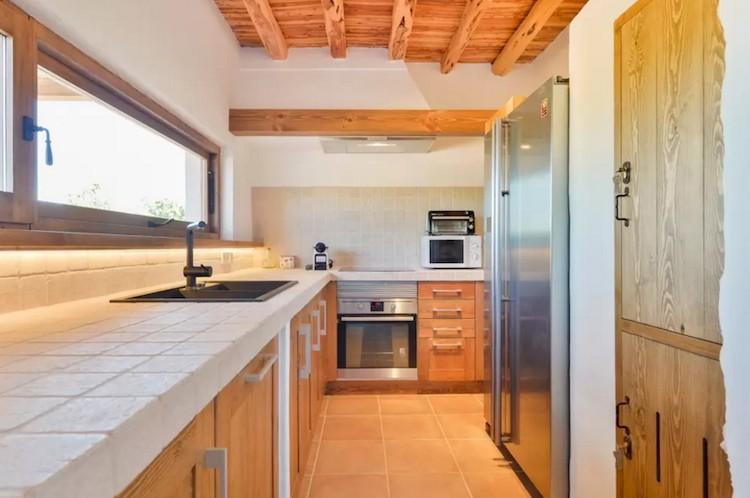 casa vacaciones Ibiza cocina