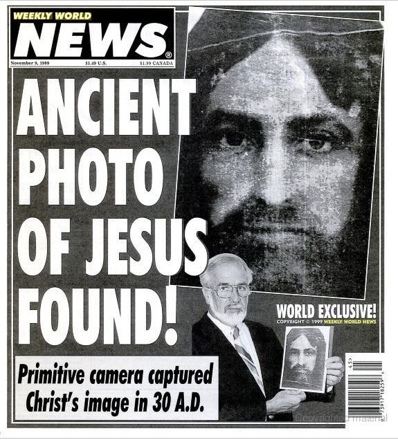 Funny Ancient Jesus Photo Found Fake News Picture