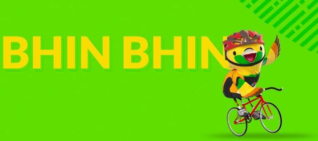 Bhin Bhin adalah burung cendrawasih (Paradisaea Apoda) yang mewakili strategi