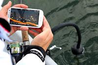 Deeper Smart Sonar on Flexible Arm Mount