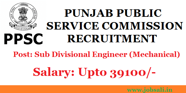 PPSC Notification, Govt jobs fro Mechanical Engineers, PPSC Syllabus