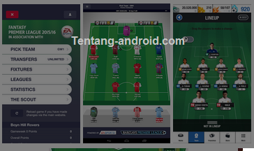 Fantasy Premier League Apk 2015-16 Full Version