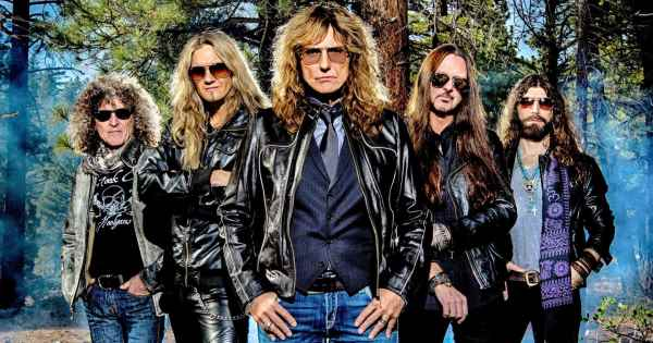 "WHITESNAKE: Video για το νέο single  ""Shut Up & Kiss Me"""