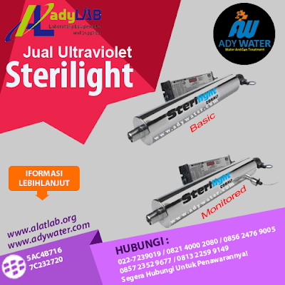Jual UV Sterilight | 0812 2445 1004 | Ady Water - Jual Media Filter