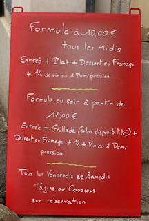 Comer bem em  Paris