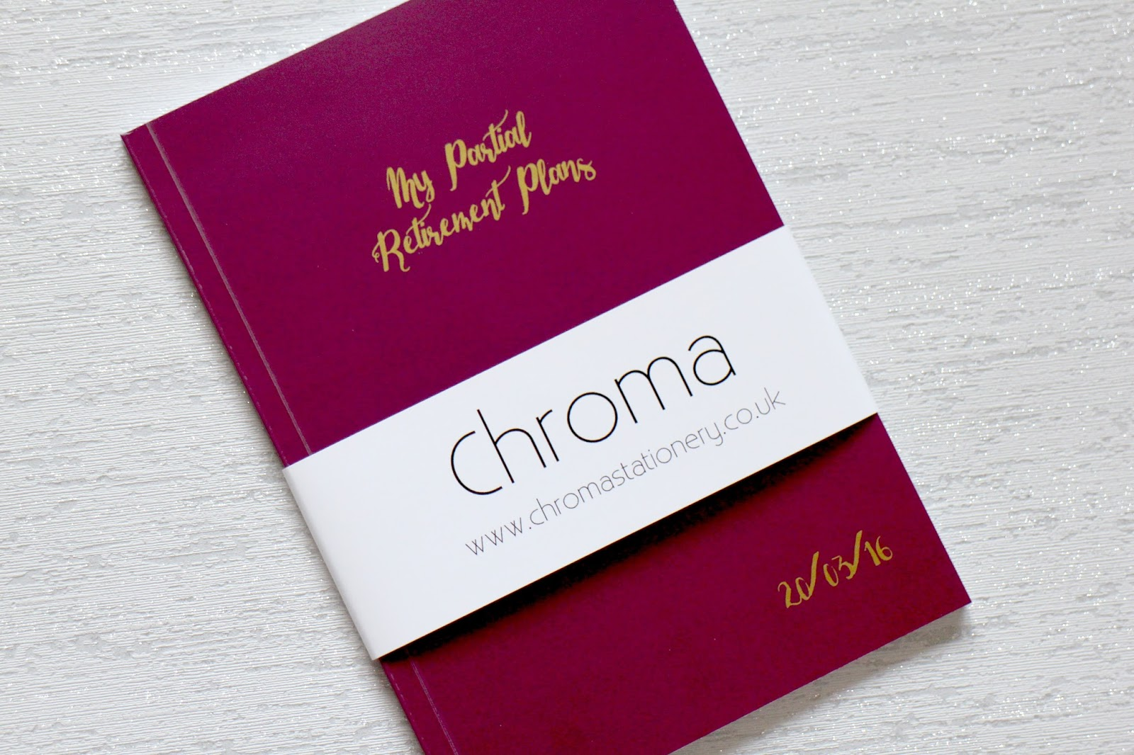 Chroma Stationery Review
