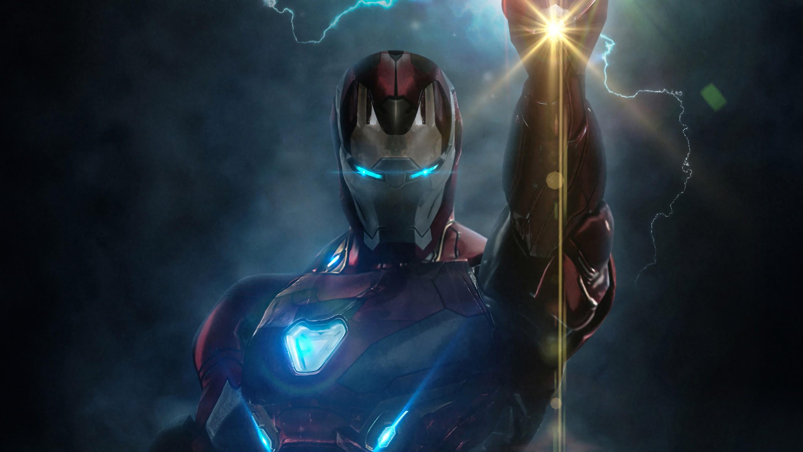 Iron Man Infinity Stones Avengers Endgame 4k Wallpaper 21