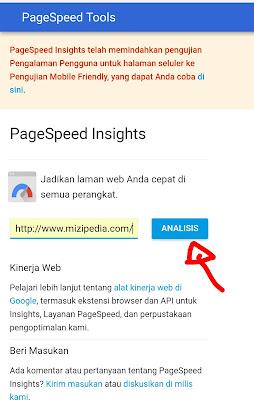 Cara mengetahui kecepatan load dan optimasi blog/web