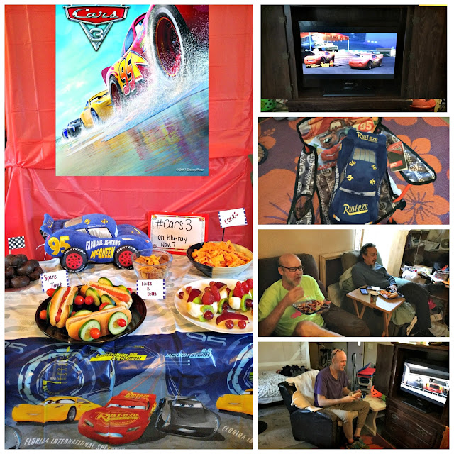 Disney Cars 3 Viewing Party
