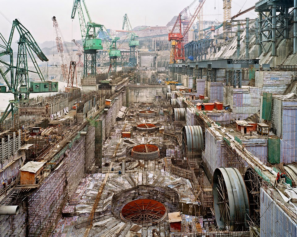 Three Gorges Dam constrution