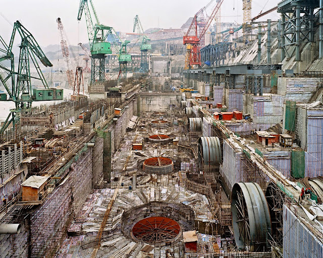 Three Gorges Dam constrution