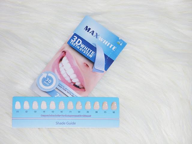 Recenzja: Paski wybielające zęby Max White 3D White Teeth System