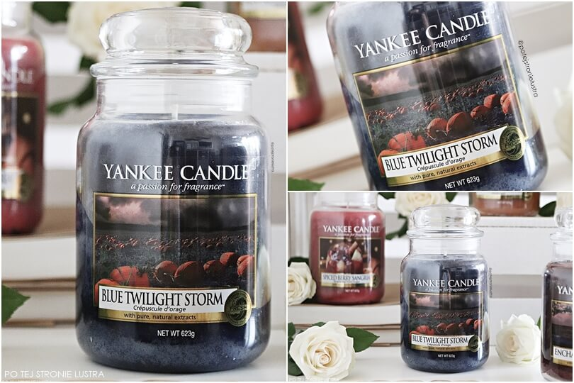 yankee candle blue twilight storm