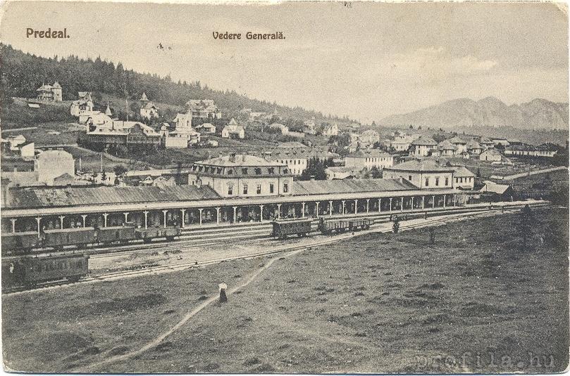 Imagini pentru Predeal Gara în anii 1930